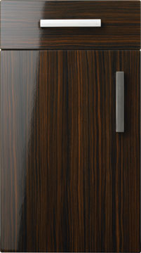 Duleek Gloss Zebrano & Choose style - Kitchen and Bedroom Doors Pezcame.Com