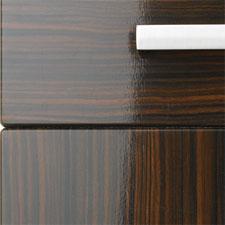 Duleek Gloss Zebrano. « & Choose style - Kitchen and Bedroom Doors